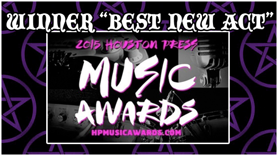 Fiddle Witch and the Demons of Doom win BEST NEW ACT at Houston Press Music Awards 2015